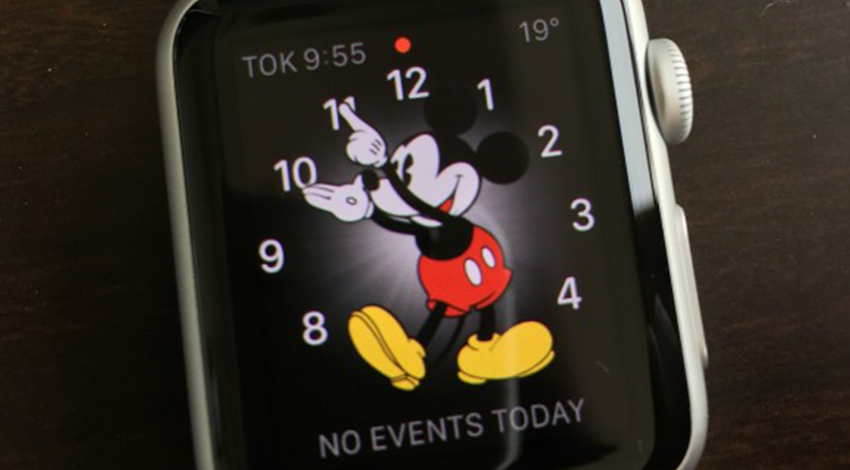 ミッキー AppleWatch