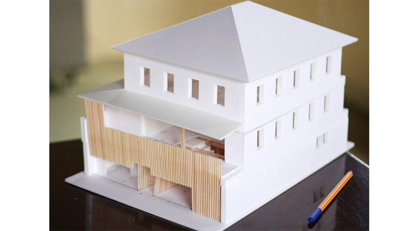 ロフトワーク、クリエイター向けコワーキング施設「MTRL KYOTO(マテリアル京都)」今秋オープン MTRL KYOTO(マテリアル京都)模型