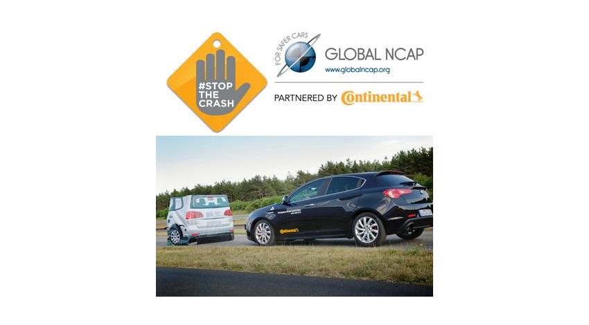 Global NCAPの衝突防止キャンペーンにコンチネンタルが提携
