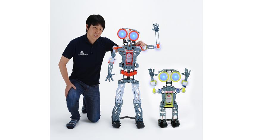 タカラトミー、組み立て式エンターテイメントロボット「MECCANOID(メカノイド)」2種 11月7日発売