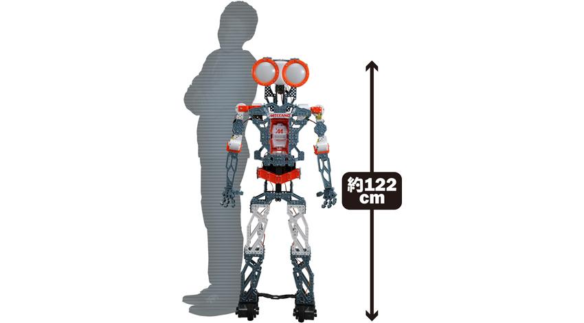 タカラトミー、組み立て式エンターテイメントロボット「MECCANOID(メカノイド)」2種 11月7日発売!
