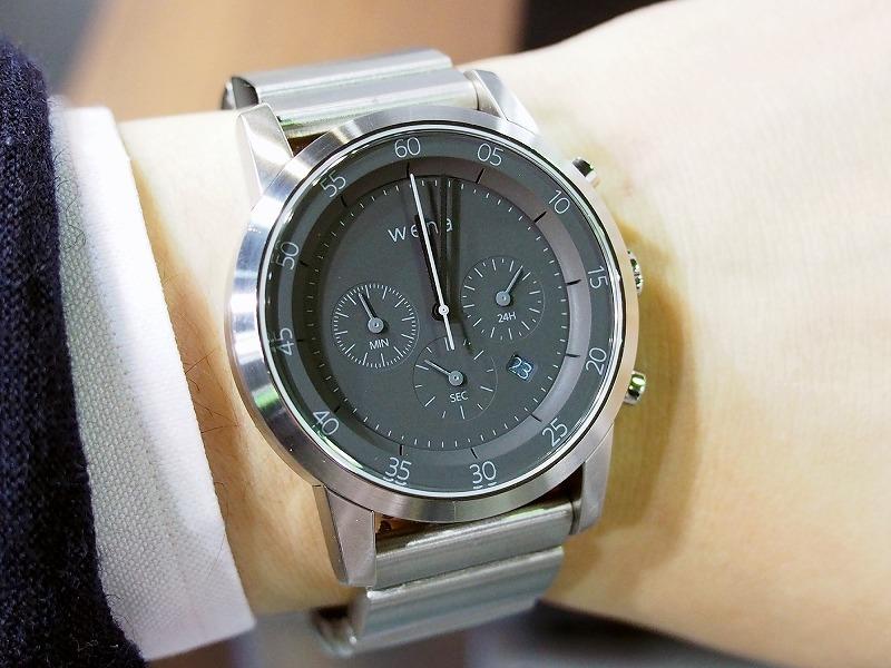 ケース部分だけ取り外すこともできる。盤面などのデザインは、時計の経験を持つデザイナーが手掛けた