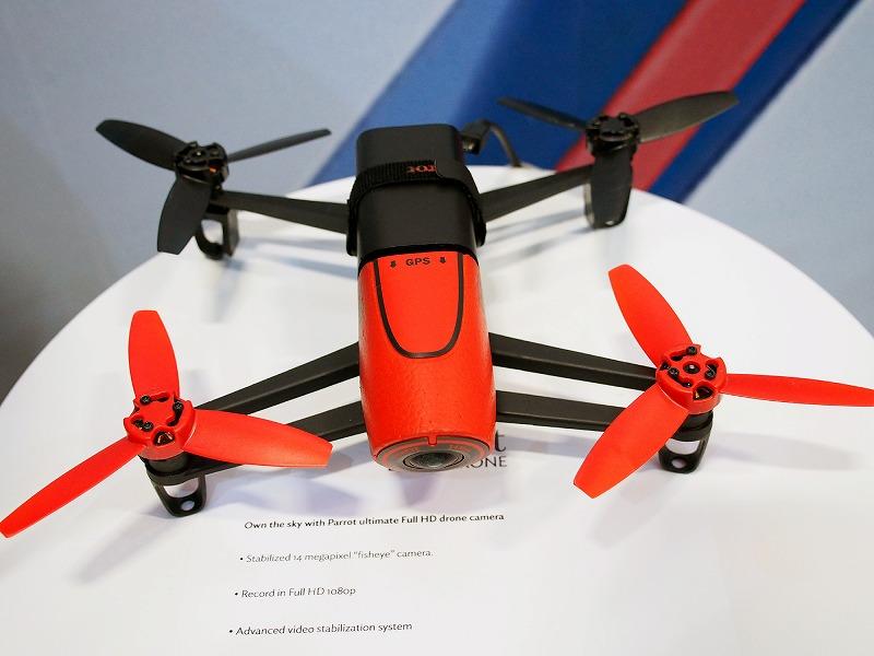 最新モデルである「Bebop Drone」
