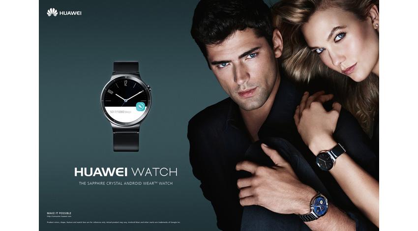 ファーウェイ・ジャパン、クラシックなデザインのスマートウォッチ『Huawei Watch』 発売