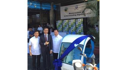 自動車IoTベンチャーのGMS、 FinTechを活用した低所得者向け車両提供サービスの大量導入に向け、フィリピン首都圏都市と覚書を締結