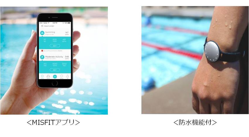 MISFIT、Speedo社と共同開発 水泳ラップカウンターを搭載したオシャレな活動量計『Speedo SHINE』(スピード シャイン)を発売 ~同時にSHINEシリーズの希望小売価格を改定~