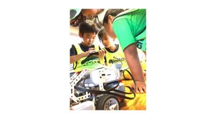ヴィリング運営の「ステモン」、福岡市アイランドシティ10周年記念企画にてロボット&プログラミングイベントを開催