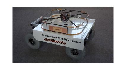 エンルートとDENGYO、ドローン搭載バッテリーへのワイヤレス充電システムを共同開発