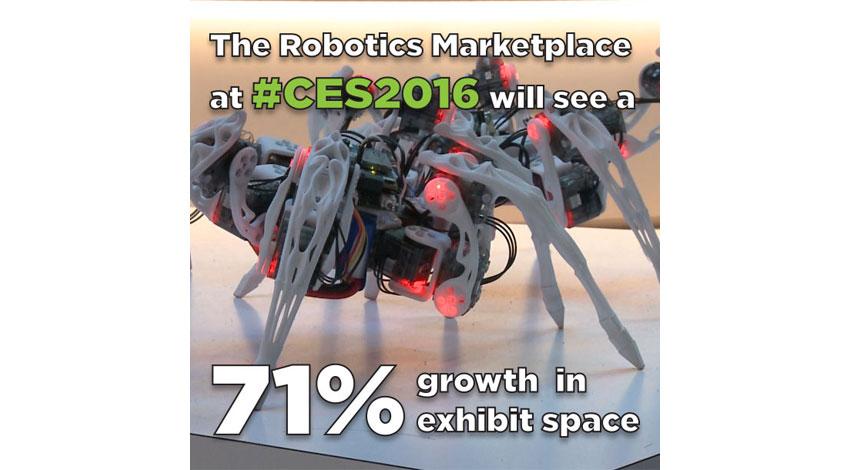 CEA、CES2016開催 ロボット革命を体験しよう