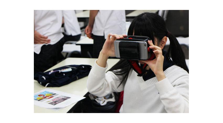 デジタルハリウッド大学院生が手がけるスマホアプリ「ルクルク」と高校生がコラボ バーチャル・リアリティを超えた「VR&AR技術プロジェクト」