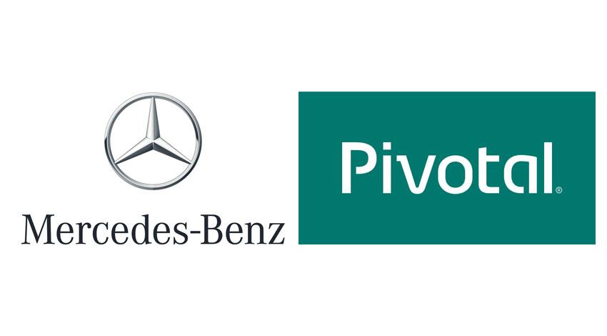 メルセデス・ベンツとピボタル、コネクテッドカー・アプリの実現に向けて協力
