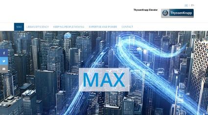 ThyssenKrupp、マイクロソフトMicrosoft Azure IoT対応のMAXを発表