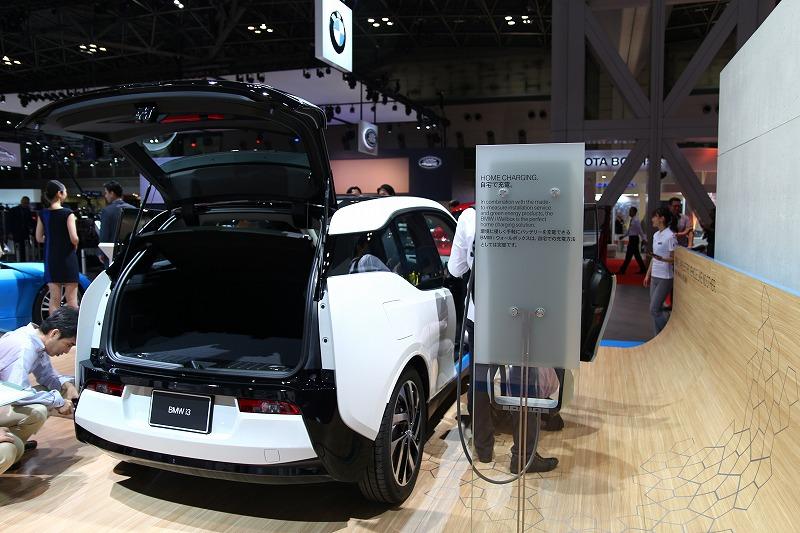東京モーターショー BMW i3