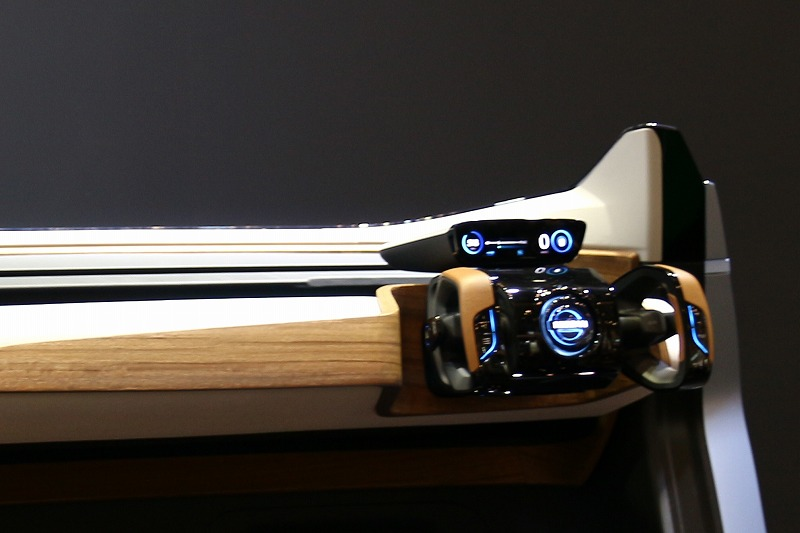 東京モーターショー 日産のコンセプトカー「NISSAN IDS」