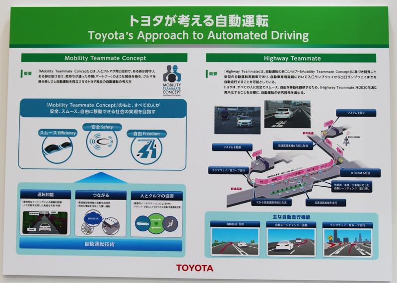 東京モーターショー、TOYOTAが考える未来のクルマ
