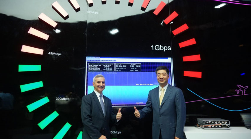 香港の通信HKTとファーウェイ、4.5G技術デモで1ギガビット/秒を達成