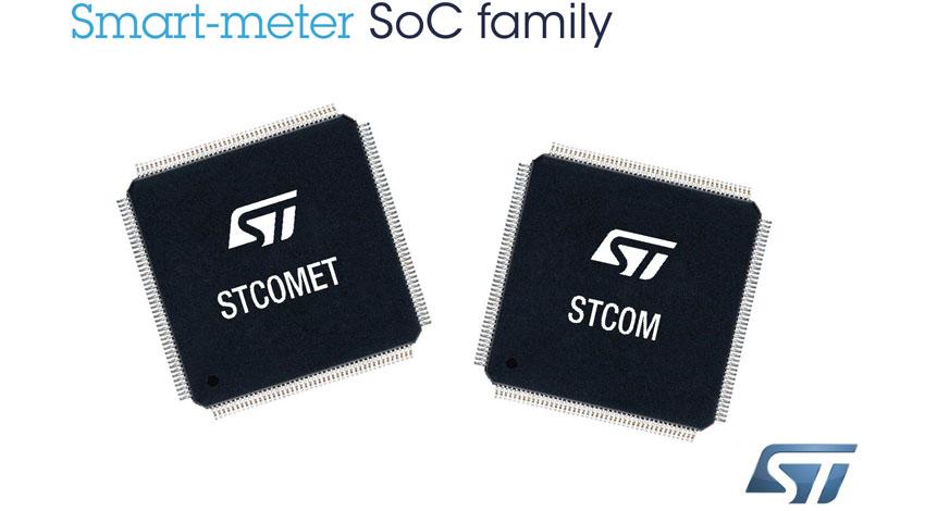 STのスマート・メータ用SoC、ERDFの主導するスマート・グリッド・プロジェクトに採用