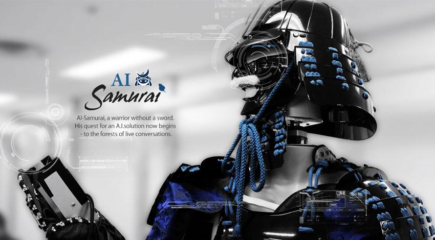 """Nextremer、マルチモーダル対話エンジン""""AI-Galleria""""を搭載した人工知能対話ロボット「AI-Samurai」開発。リアルな対話を求めてワールドツアーを敢行。"""