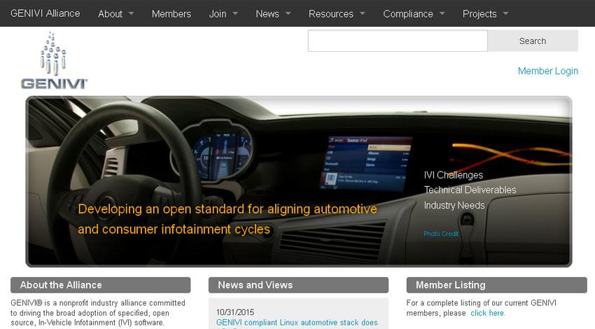GENIVI、アライアンスがコネクテッド・カーの開発を加速