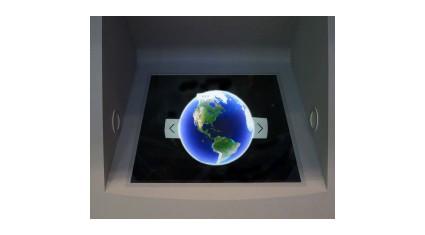 JTB、体感型の新型デジタルサイネージ「大型エアリアルイメージングプレート」を店舗導入