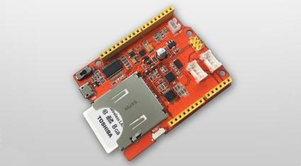 東芝、Seeedと無線LAN搭載SDHCメモリカード「FlashAirTM」を使ったIoT機器試作用のプロトタイピングボード開発