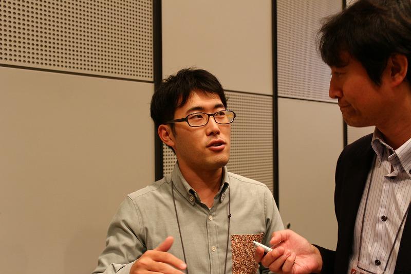 左:メカニック アクター 長谷川 高志さん/IoTNEWS 田宮 彰仁