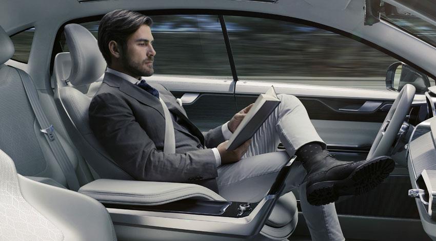 ボルボ・カーズ、「コンセプト26」を発表。自動運転車が叶える豊かなひととき。
