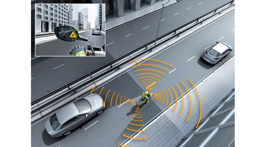 ボッシュ、車線変更を支援する「サイドビューアシスト」開発