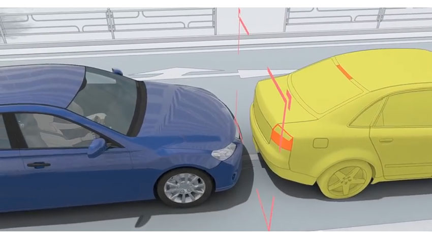 JAF、自動車の先進安全技術を正しく理解できるCG動画を公開