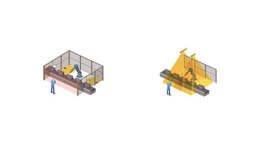 オムロン、「3次元セーフティセンシング技術」を開発