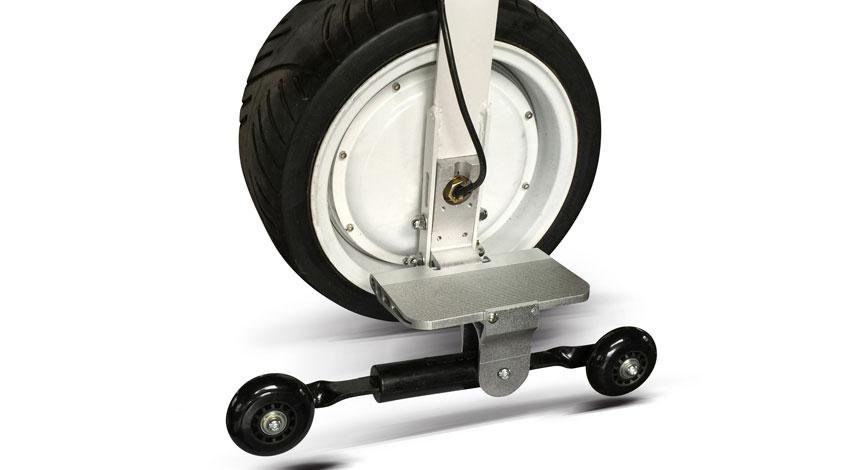 ワンホイール運営事務局、歩行補助車、搭乗型移動支援ロボットとして実用化へ第一歩 「電動一輪車 ONEWHEEL(ワンホイール) i-1」歩道・公道走行テストを開始