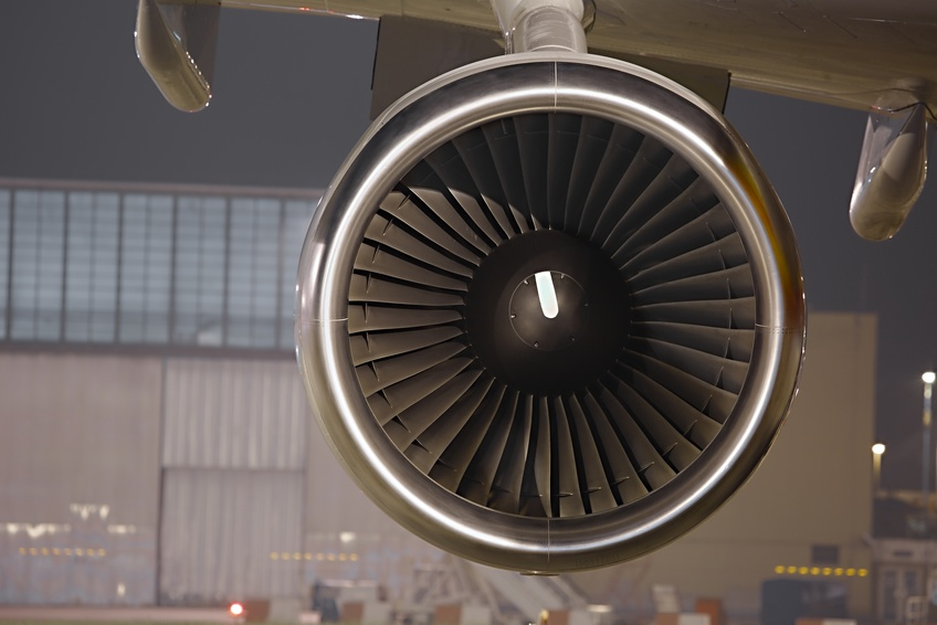 Jet engine of an aircraft