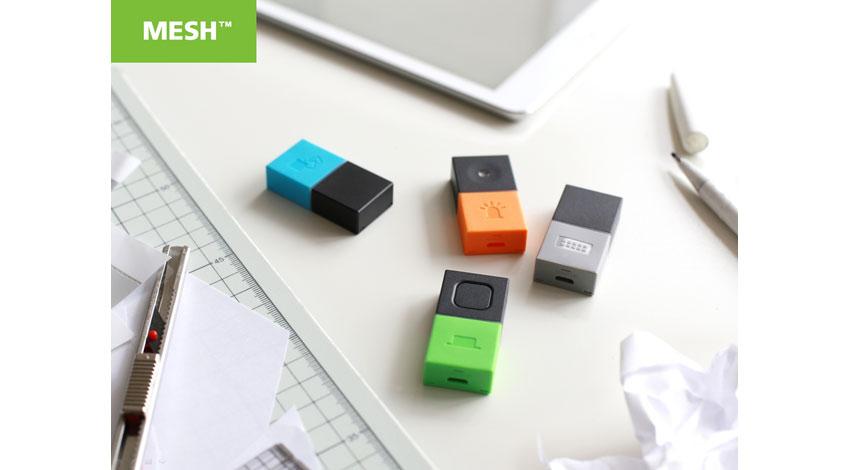 ソニー、アプリとつながる電子タグ「MESH」を渋谷ロフトのデジタル加工工房「&Fab」で販売開始