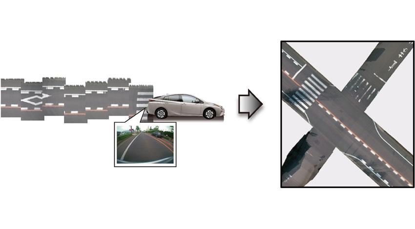 トヨタ自動車、自動運転の早期実現を可能にする地図自動生成システムを開発