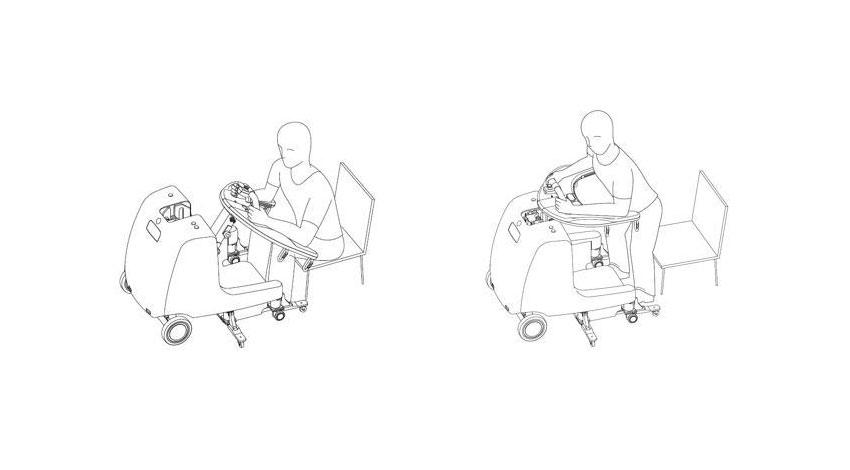 安川電機、ロボット介護機器「屋内移動アシスト装置」を開発