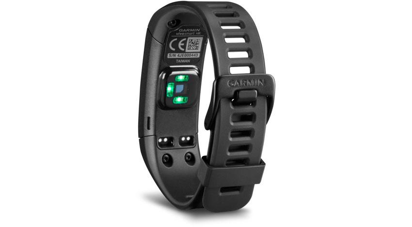 GARMIN、24時間計測可能な光学式心拍計付のフィットネスバンド発売