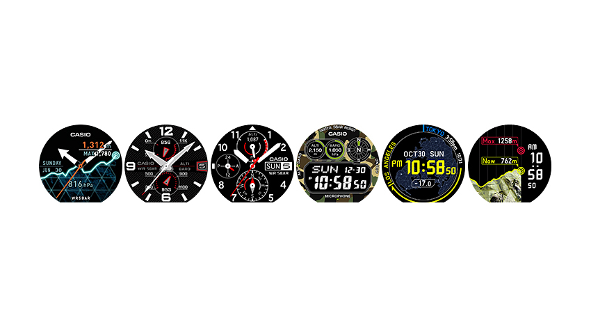 カシオ、アウトドアシーンに最適なリストデバイスSmart Outdoor Watch発売