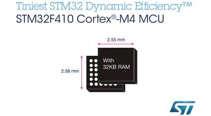 ST、STM32 F4マイコンの最小製品の量産と開発ボードの提供を開始