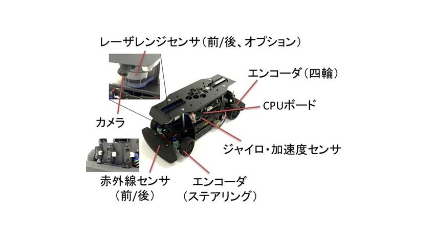 ZMP、自動運転等の研究開発向け、実車1/10スケールロボットカー「RoboCar 1/10 2016」発売