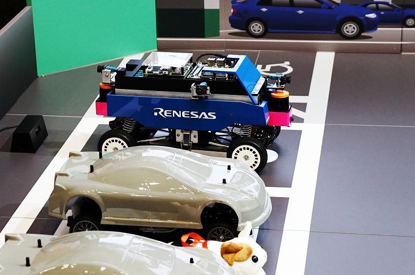 ルネサスの自動運転は高速道路と提携パーキングから 第8回オートモーティブワールド