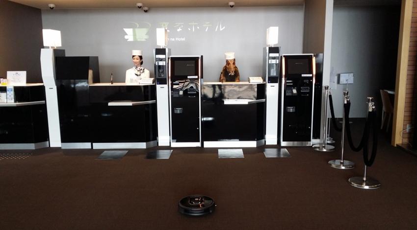 ハウステンボス「変なホテル」がルンバ980を公式ロボット掃除機として導入