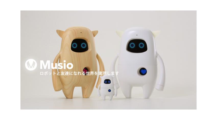 AKA、人工知能ロボットMusioの新バージョンを伊勢丹新宿本店に日本初展示
