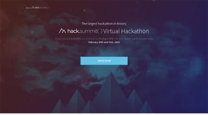 Pluralsight、優勝賞金10万ドルのバーチャル・ハッカソン『hack.summit()』を開催