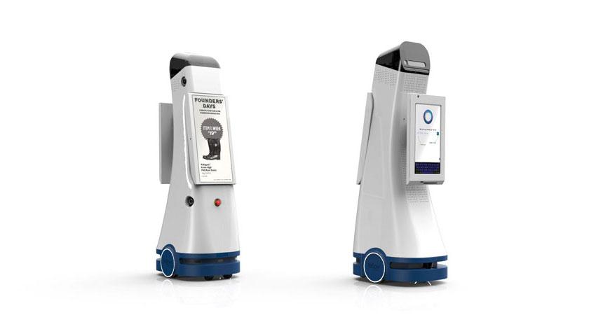 日本ユニシス、ヤマダ電機の店舗で、Fellow Robotsの自律移動型サービスロボット「NAVII™(ナビー)」を活用した実証実験を開始