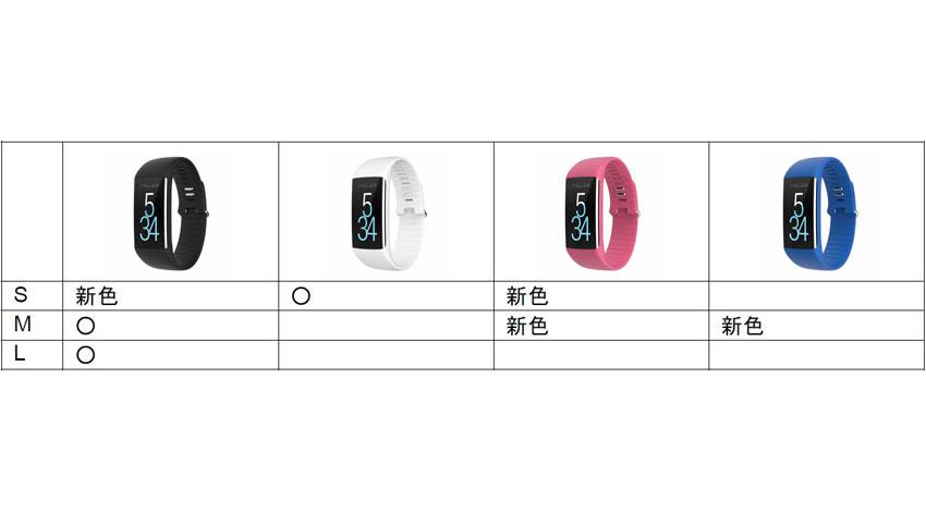 ポラール、手首を健康メーターにする「Polar A360」に新色ベルトの「ソルベピンク」「ネイビーブルー」が登場