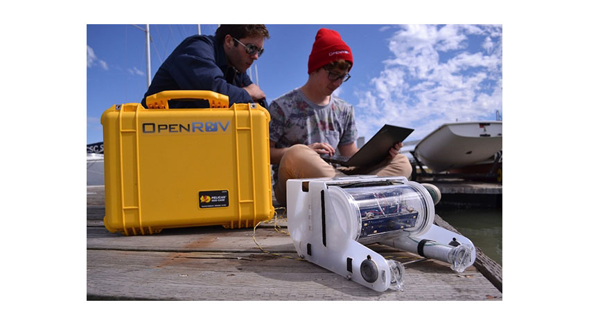 セキド、OpenROVの水中ドローンキットを発売