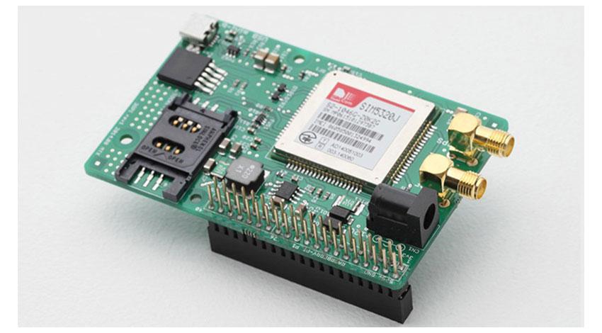 メカトラックスのラズベリーパイ用通信モジュール「3GPI」、Microsoft Azure Certified for IoTデバイス認定