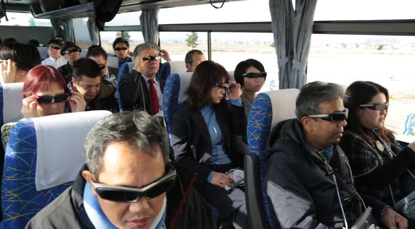dmpとIRIDeS、SmartEyeglass等のウェアラブルデバイスや震災アーカイブデータを活用した被災地観光・防災教育ツアー『AR HOPE TOUR in Sendai』を開催