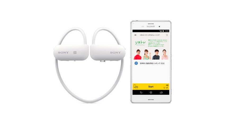 """ヘッドホン一体型のスポーツデバイスとアプリでランニングを楽しくサポートする、ソニーの""""Smart B-Trainer™"""" 、「ソネット パーソナルトレーニング」と連携開始"""