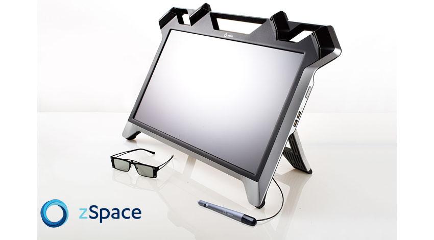富士通ソーシアルサイエンスラボラトリ、VRディスプレイ「zSpace」向け多機能汎用ビューアー「FZViewer」を販売開始